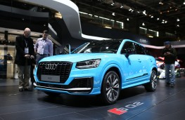 Audi SQ2, Paris Motor Show, 2018