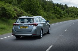 Toyota Auris Touring Sports, rear, action