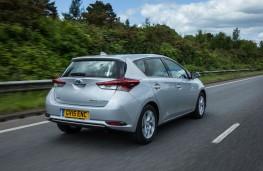 Toyota Auris Hybrid, rear, action