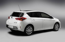 Toyota Auris, rear