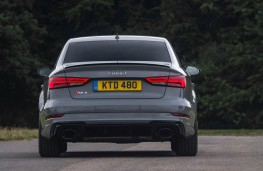 Audi RS3 saloon, rear