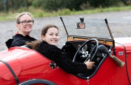 Young Driver classic car experience, 2021, Austin 7