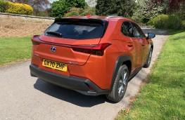 Lexus UX 300e EV, 2021, rear