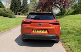 Lexus UX 300e EV, 2021, tail