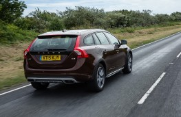 Volvo V60 Cross Country, rear