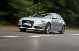 Audi A6 Avant 3.0 TDI quattro SE, front