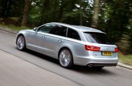 Audi A6 Avant 3.0 TDI quattro SE, rear
