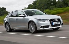 Audi A6 Avant 3.0 TDI quattro SE, side