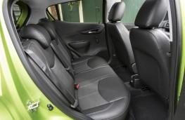 Vauxhall Viva, rear seats