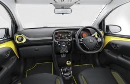 Toyota Aygo x-cite, interior