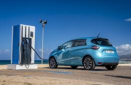 Renault Zoe, 2019, charging