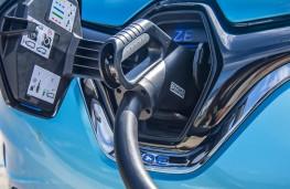 Renault Zoe, 2019, charging point