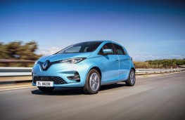 Renault Zoe, 2019, front, action