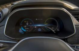 Renault Zoe, 2019, instrument panel