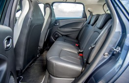 Renault Zoe, 2019, rear seats