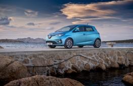 Renault Zoe, 2019, side
