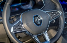 Renault Zoe, 2019, steering wheel