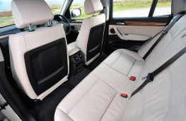 BMW X3, rear seats