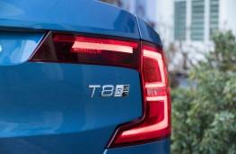 Volvo S90 Recharge T8, 2021, badge