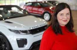Daniella Bagnall, chief product engineer, Jaguar F-PACE