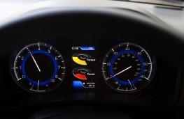 Suzuki Baleno, power meter