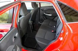 Suzuki Baleno, rear seats