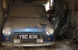 Mini, 1961 Oselli Mini, barn find