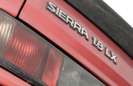 Ford Sierra, badge