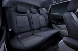 Hyundai Bayon, 2021, rear seats