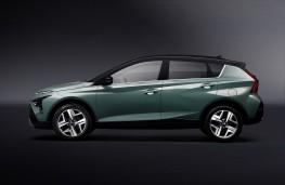 Hyundai Bayon, 2021, side