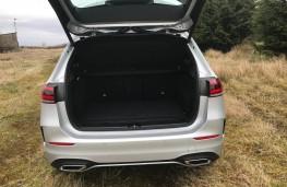 Volvo V60, 2018, boot