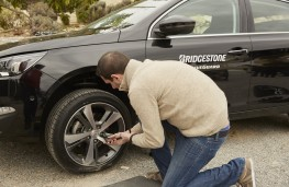 Bridgestone DriveGuard run flat tyre, check