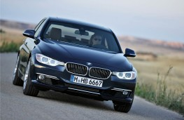 BMW 3 Series Saloon, action