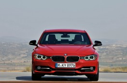 BMW 3 Series Saloon, front