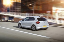 Volkswagen Polo beats, 2018, rear