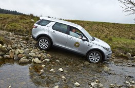 Land Rover Discovery Sport driven by Prince of Wales