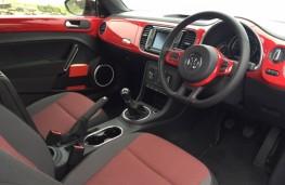 Volkswagen Beetle, interior