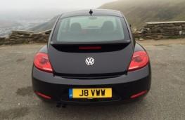 Volkswagen Beetle, rear