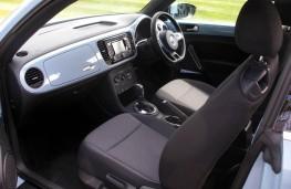 VW Beetle 2.0 TDI, interior
