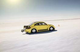 Volkswagen Beetle LSR, side, action