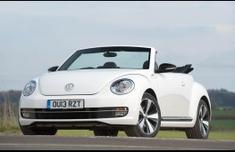Volkswagen Beetle Cabriolet, front, static