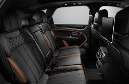Bentley Bentayga Speed, interior