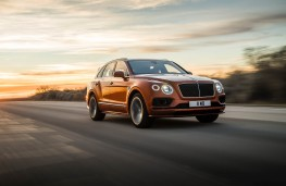 Bentley Bentayga Speed, front