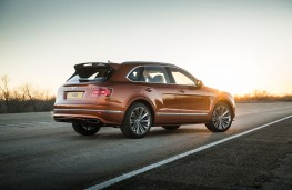 Bentley Bentayga Speed, rear