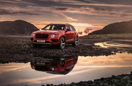 Bentley Bentayga, front