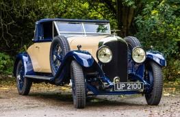 Bentley 4½ Litre, 1928, front