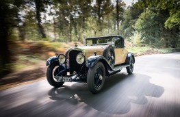Bentley 4½ Litre, 1928, front, action