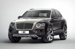 Bentley Bentayga Mulliner, 2017, front