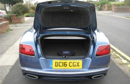 Bentley Continental GT Speed, rear