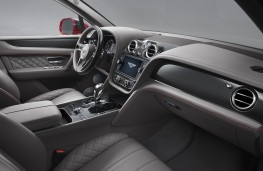 Bentley Bentayga V8, 2018, interior